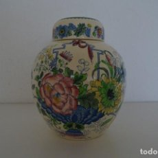Antigüedades: JARRO DE GENJIBRE, PORCELANA CHINA. MASON'S, IRONSTONE. ENGLAND. Lote 77545625