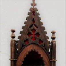 Antigüedades: ANTIGUA VITRINA U HORNACINA. Lote 65806894