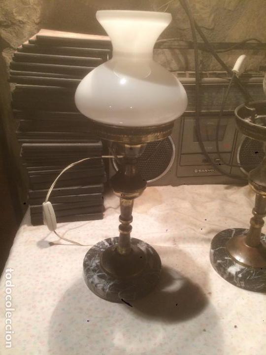 antigua 2 lámpara / lámparas de mesita de noc - Comprar Lámparas ...