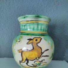 Antigüedades: ANTIGUA JARRA DE PUENTE DEL ARZOBISPO. FIRMADA.. Lote 77670789