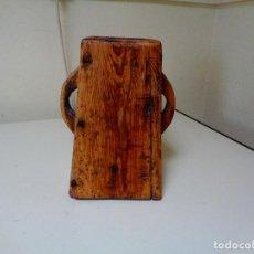 Antigüedades: MEDIDOR DE GRANO O ALMUZ SIGLO XIX. Lote 77816733