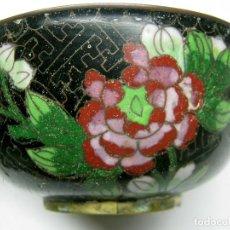 Antigüedades: ANTIGUO BOL CUENCO ASIATICO CLOISONE CHINO CLOISONNÉ. Lote 77830381