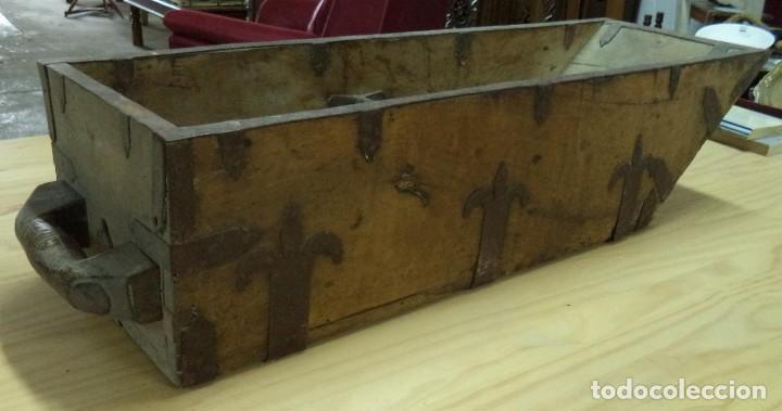 Antigüedades: Almud de nogal, s.XVIII - Foto 2 - 77850485