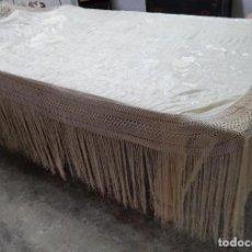 Antigüedades: MANTÓN DE MANILA DE SEDA. Lote 77850701