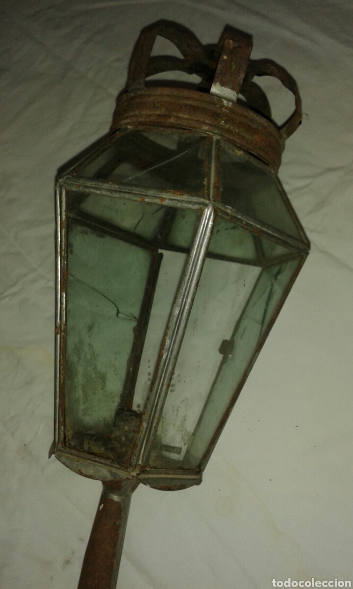 Antigüedades: Farol antiguo de penitente - Foto 2 - 77857370