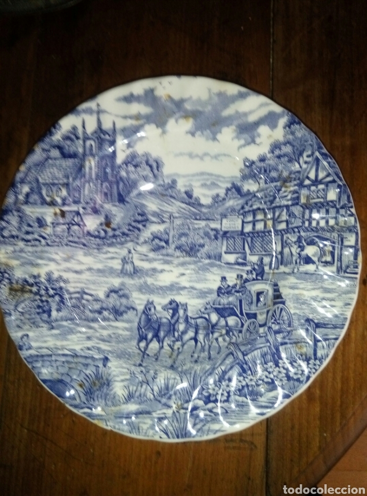 PLATO CERAMICA ITALIA (Antigüedades - Porcelanas y Cerámicas - Otras)