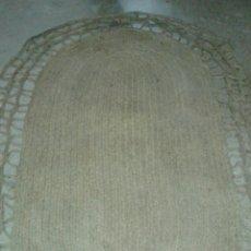Antigüedades: ALFOMBRA GRANDE DE ESPARTO. Lote 77864387