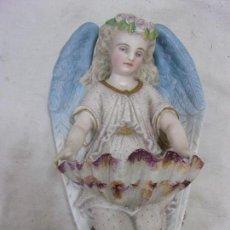 Antigüedades: PILA BENDITERA. S. XIX. Lote 77876169