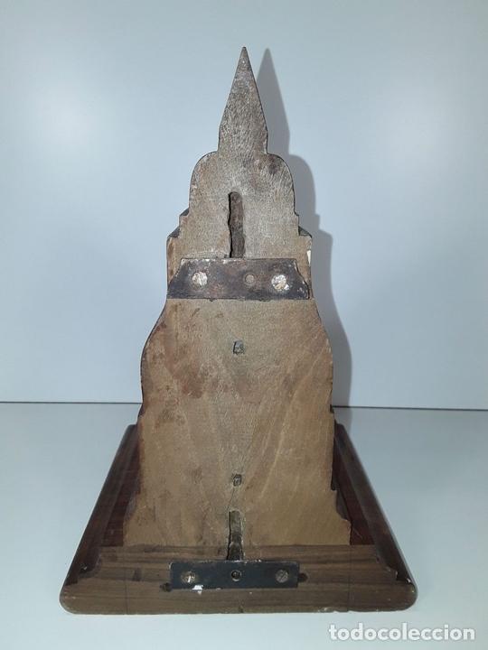 Antigüedades: MÉNSULA EN MADERA TALLADA. ESPAÑA. SIGLO XX. - Foto 4 - 77895245