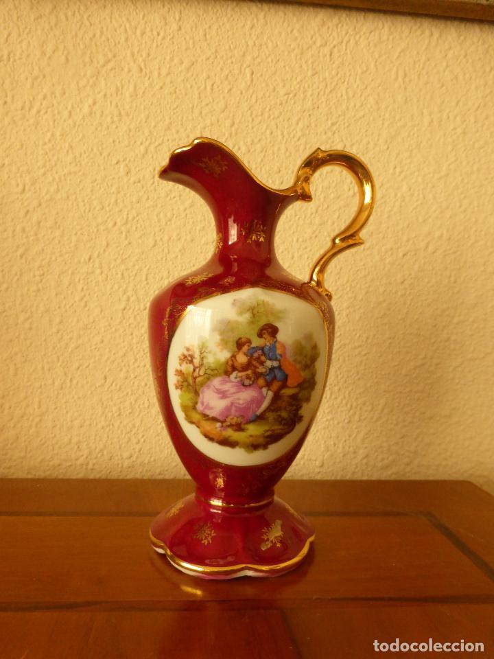 JARRÓN DE LIMOGES (Antigüedades - Porcelana y Cerámica - Francesa - Limoges)