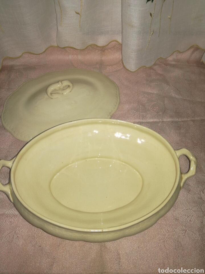 Antigüedades: Sopera de loza china opaca - Foto 3 - 77922358