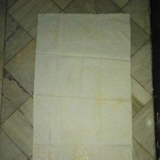 Antigüedades: ANTIGUA TOALLA BORDADA MODERNISTA. Lote 77935705