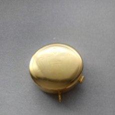 Antigüedades: PRECIOSO OSTIARIO CON BAÑO DORADO PARA COLGANTE. Lote 78056377