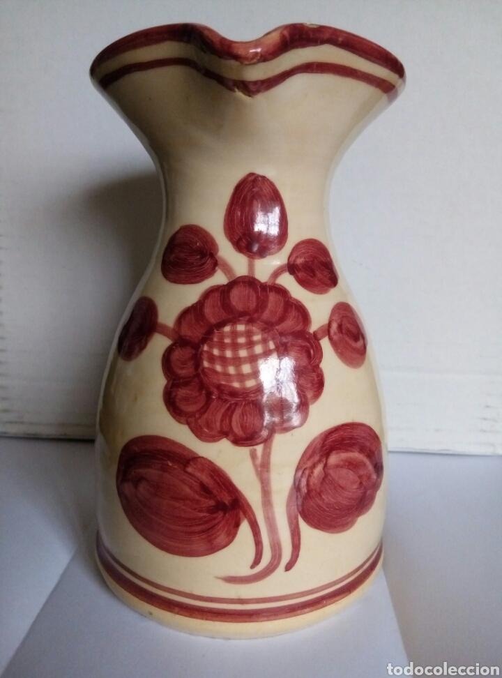 JARRA CERAMICA. PUENTE ARZOBISPO (Antigüedades - Porcelanas y Cerámicas - Puente del Arzobispo )