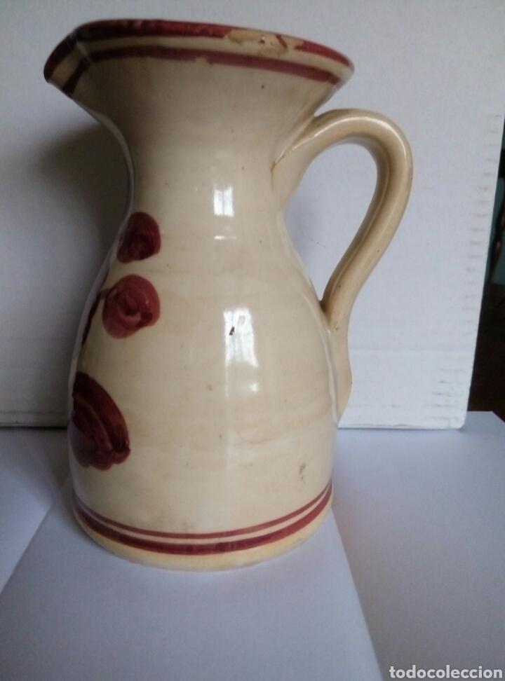 Antigüedades: Jarra ceramica. Puente Arzobispo - Foto 2 - 77968346
