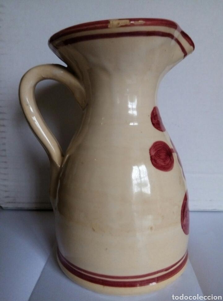 Antigüedades: Jarra ceramica. Puente Arzobispo - Foto 3 - 77968346