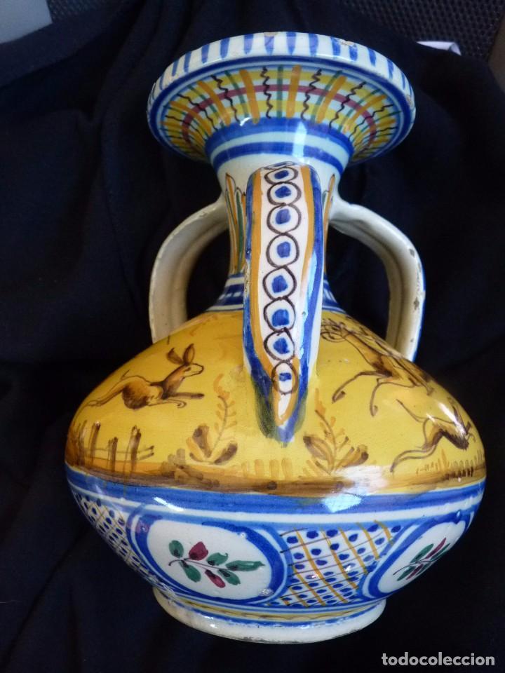 EXCLUSIVA JARRA CERÁMICA DE TRIANA SIGLO XIX (Antigüedades - Porcelanas y Cerámicas - Triana)