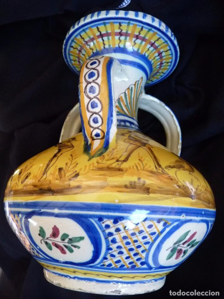 Antigüedades: EXCLUSIVA JARRA CERÁMICA DE TRIANA SIGLO XIX - Foto 6 - 77981653