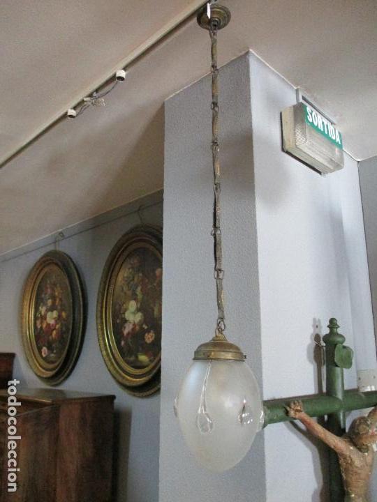 de deco techo art Antigua tulipa en Vendido lámpara g Lj45AR