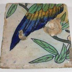 Antigüedades: ANTIGUO AZULEJO DEL XVII VALENCIANO. Lote 77987825
