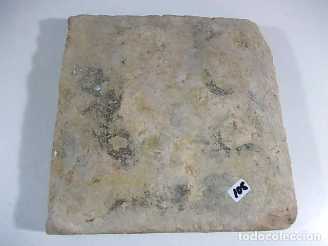 Antigüedades: ANTIGUO AZULEJO DEL XVII VALENCIANO - Foto 4 - 77988701