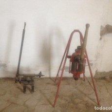 Antigüedades: BOMBAS HIERRO AGRICULTURA. Lote 78087565