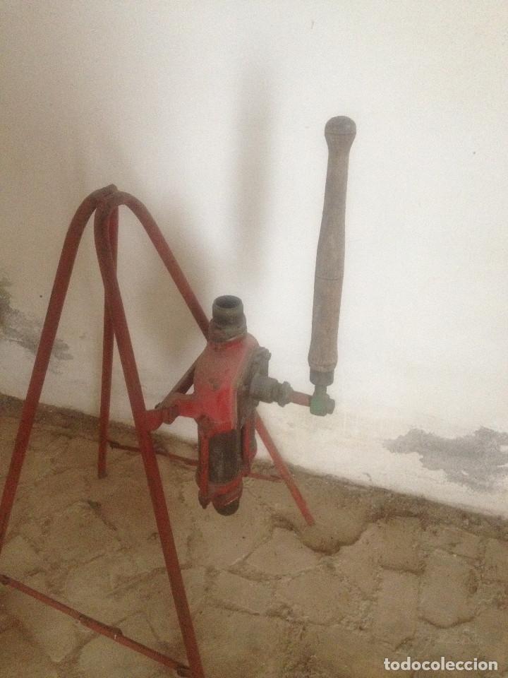 Antigüedades: BOMBAS HIERRO AGRICULTURA - Foto 5 - 78087565
