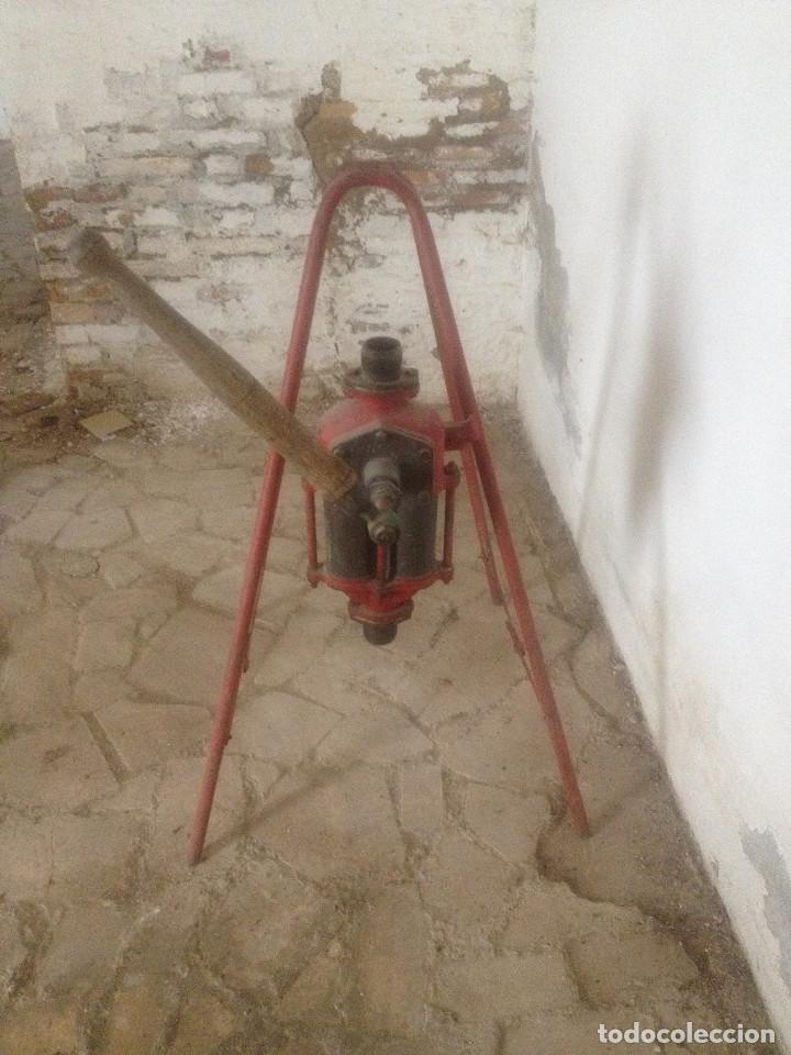 Antigüedades: BOMBAS HIERRO AGRICULTURA - Foto 8 - 78087565