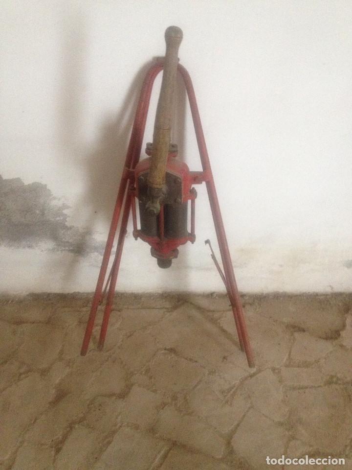 Antigüedades: BOMBAS HIERRO AGRICULTURA - Foto 15 - 78087565