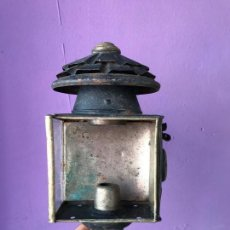 Antigüedades: ANTIGUO FAROL DE TREN O SIMILAR. Lote 78132045