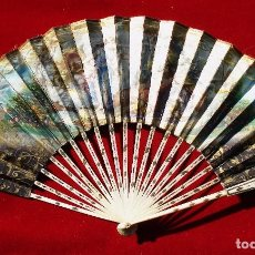Antigüedades: ANTIGUO ABANICO MARFIL . Lote 78138249