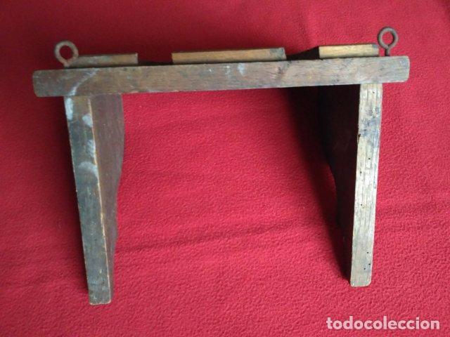 Antigua repisa estante balda de madera para esc comprar repisas antiguas en todocoleccion - Balda de madera ...