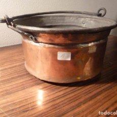 Antigüedades: CUBO DE COBRE 18. Lote 78151645