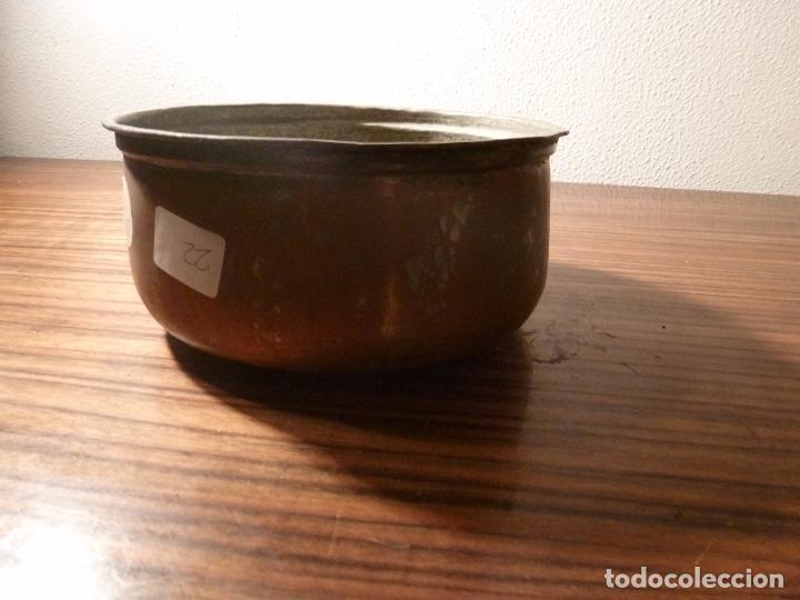 CUBO DE COBRE 22 (Antigüedades - Técnicas - Rústicas - Utensilios del Hogar)