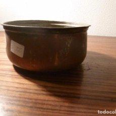 Antigüedades: CUBO DE COBRE 22. Lote 78153365