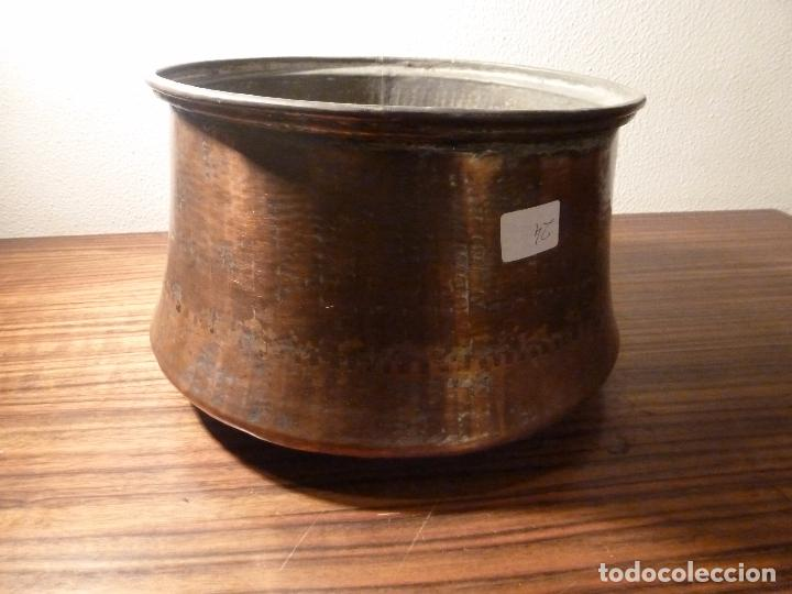CUBO DE COBRE 24 (Antigüedades - Técnicas - Rústicas - Utensilios del Hogar)
