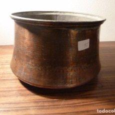 Antigüedades: CUBO DE COBRE 24. Lote 78153829