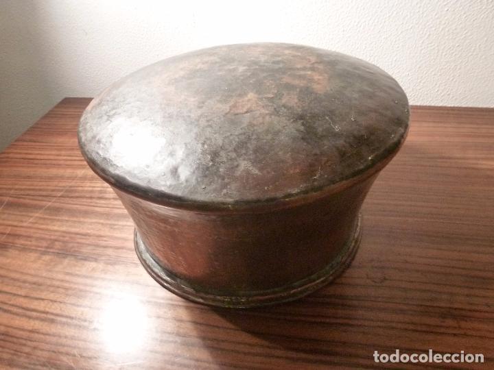 Antigüedades: cubo de cobre 24 - Foto 2 - 78153829
