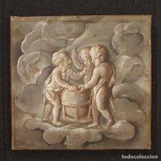 Antigüedades: PINTURA FRANCÉS ALEGORÍA DE LA ASTRONOMÍA DEL SIGLO XIX. Lote 78212477