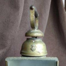 Antigüedades: FAROL DE SERENO (1920) CON ESCUDO DE BARCELONA CON MURCIÉLAGO. Lote 78225625