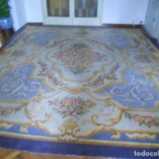 Antigüedades: ALFOMBRA REAL FABRICA DE TAPICES STUYCK MADRID 1927. Lote 78238497
