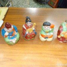 Antigüedades: LOTE DE BUDAS DE FINA PORCELANA CHINA MIDEN SOBRE 9 CENT.. Lote 78245169