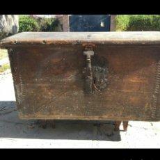 Antigüedades: ARCON DE CEDRO SIGLO XVI. Lote 78252859