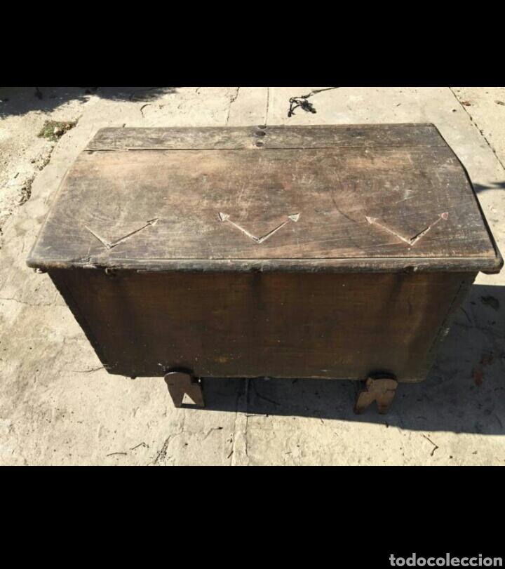 Antigüedades: Arcon de cedro siglo XVI - Foto 3 - 78252859