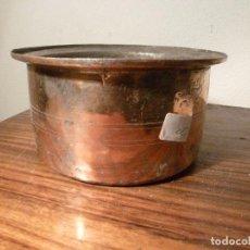 Antigüedades: ANTIGUO CUENCO , CUBO, CALDERA,POZAL,CALDERO,OLLA DE COBRE 29. Lote 78265913