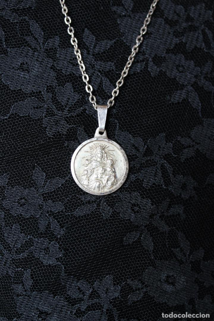 6bbccd555e6 Medalla escapulario sagrado corazÓn de jesÚs virgen del carmen en plata jpg  720x1080 Sagrado corazón medalla