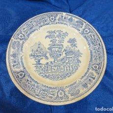 Antigüedades: PLATO DE CASA VARGAS SEGOVIA. Lote 78346945