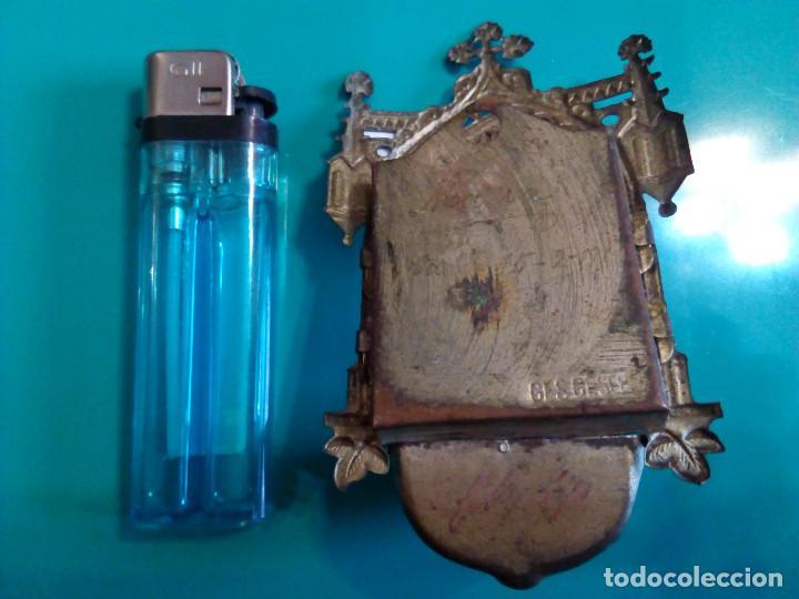 Antigüedades: ANTIGUA BENDITERA DE SAN JOSE - Foto 2 - 78355273