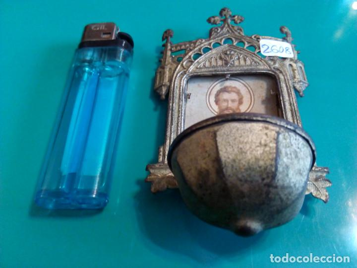 Antigüedades: ANTIGUA BENDITERA DE SAN JOSE - Foto 3 - 78355273