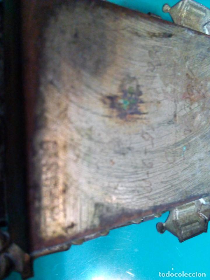 Antigüedades: ANTIGUA BENDITERA DE SAN JOSE - Foto 4 - 78355273